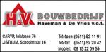 Bouwbedrijf Haveman & De Vries